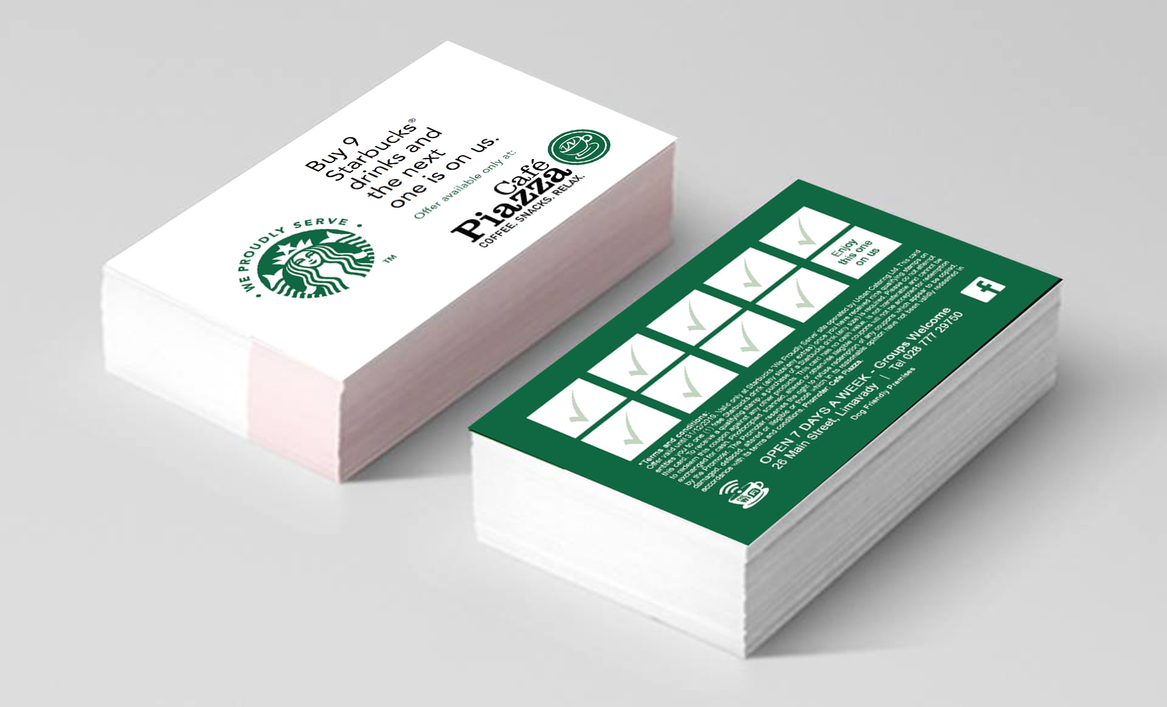 Cafe Piazza Cards